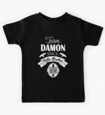 Team Damon Since Hello Brother. Damon Salvatore. TVD. Kids Clothes