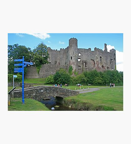 Laugharne Castle Photographic Print