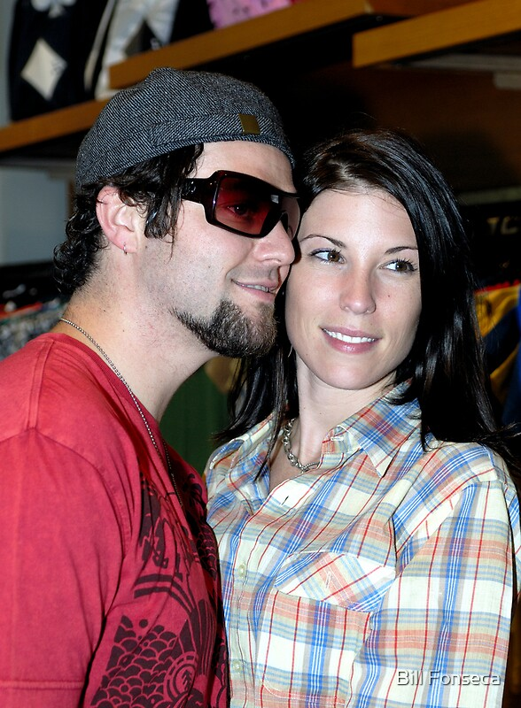 Quot Bam Margera And Wife Missy Quot Posters By Bill Fonseca