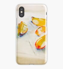 a study in apple slices iPhone Case/Skin