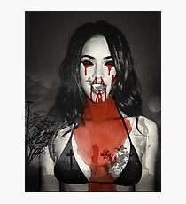 Megan Fox 666 Photographic Print