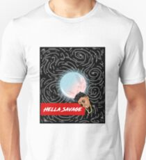Hella Savage Milky Galaxy Unisex T-Shirt