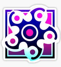 80's Hibana Icon Sticker