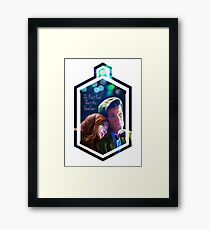 The First Face That This Face Saw Framed Print