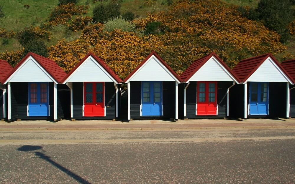 Bournemouth Beach Huts by RedHillDigital