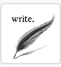 write (quill) Sticker