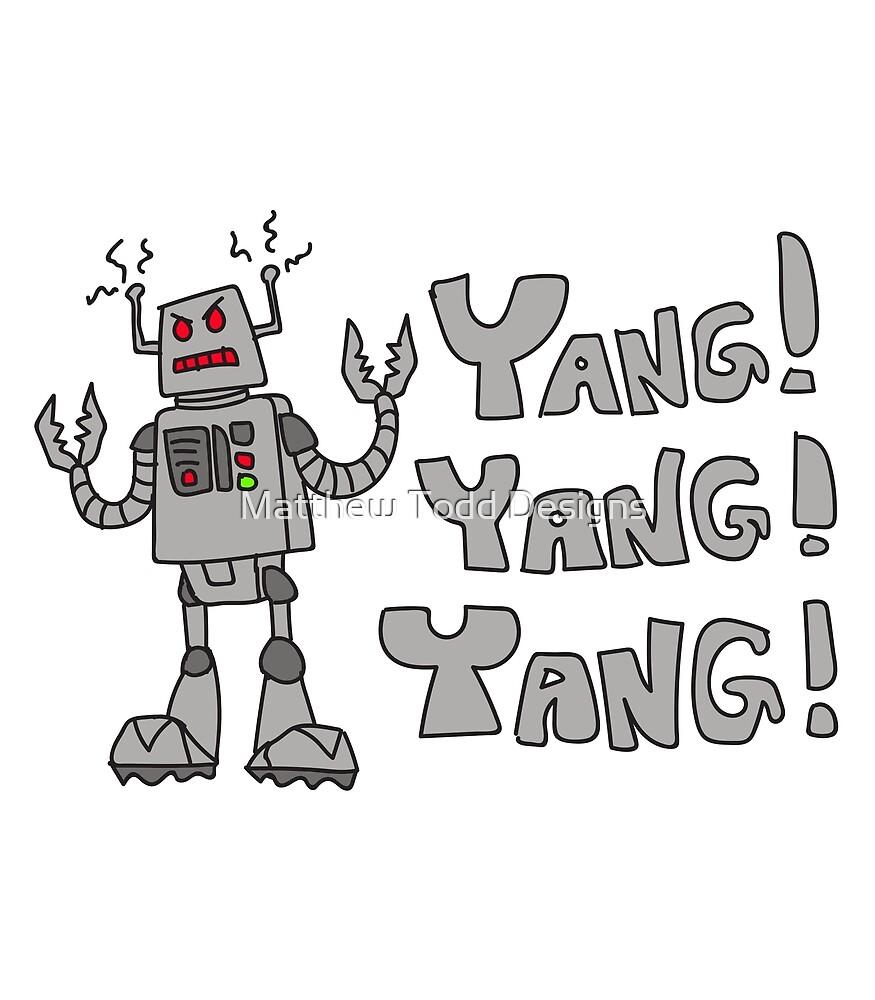 Yang Yang Yang! by Matthew Todd Designs
