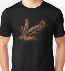 Phoenix or Fire Bird Unisex T-Shirt