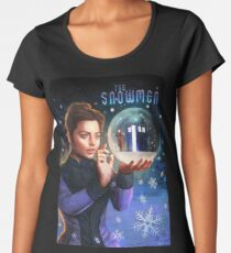 The Snowmen Women's Premium T-Shirt