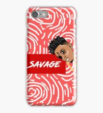 HELLA SAVAGE! Spiral Concept iPhone Case/Skin