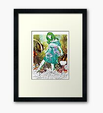 Girl's Diary Collection - Water Framed Print