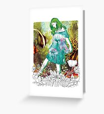 Girl's Diary Collection - Water Greeting Card