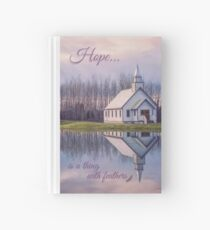 Hope Is A Thing With Feathers Hardcover Journal