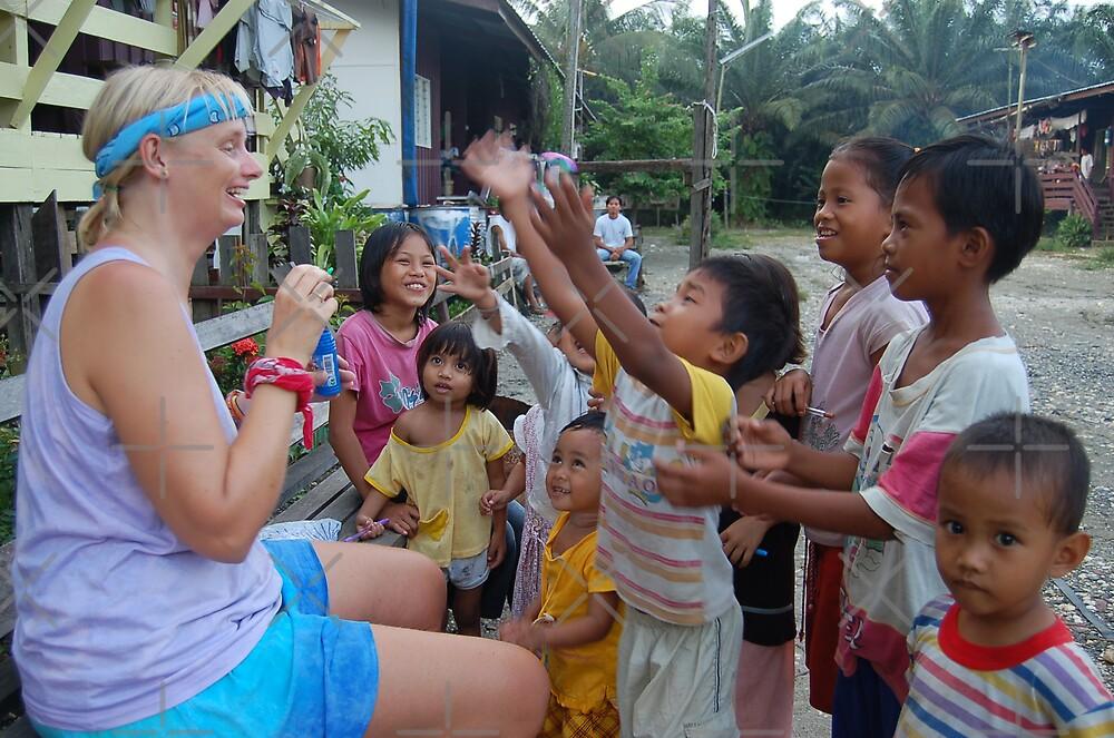 Bubble Children by ApeArt