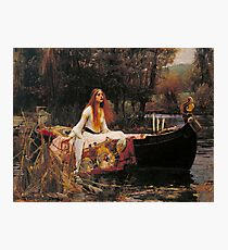The Lady of Shallot - John William Waterhouse  Photographic Print