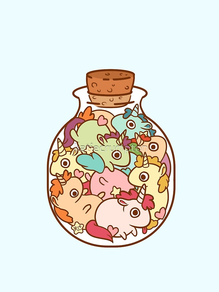 Bottle of Unicorns by katiecrumpton