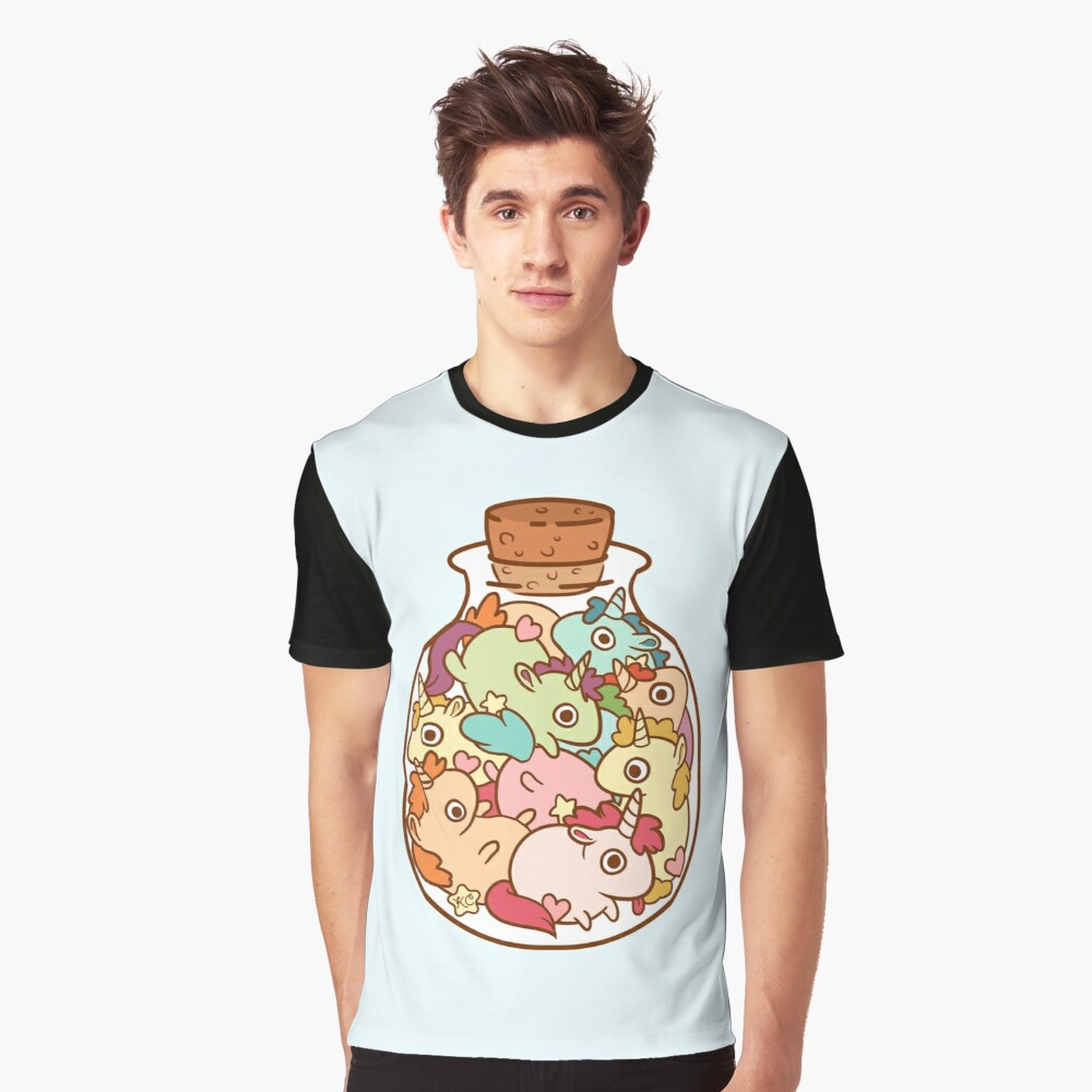 Bottle of Unicorns Graphic T-Shirt