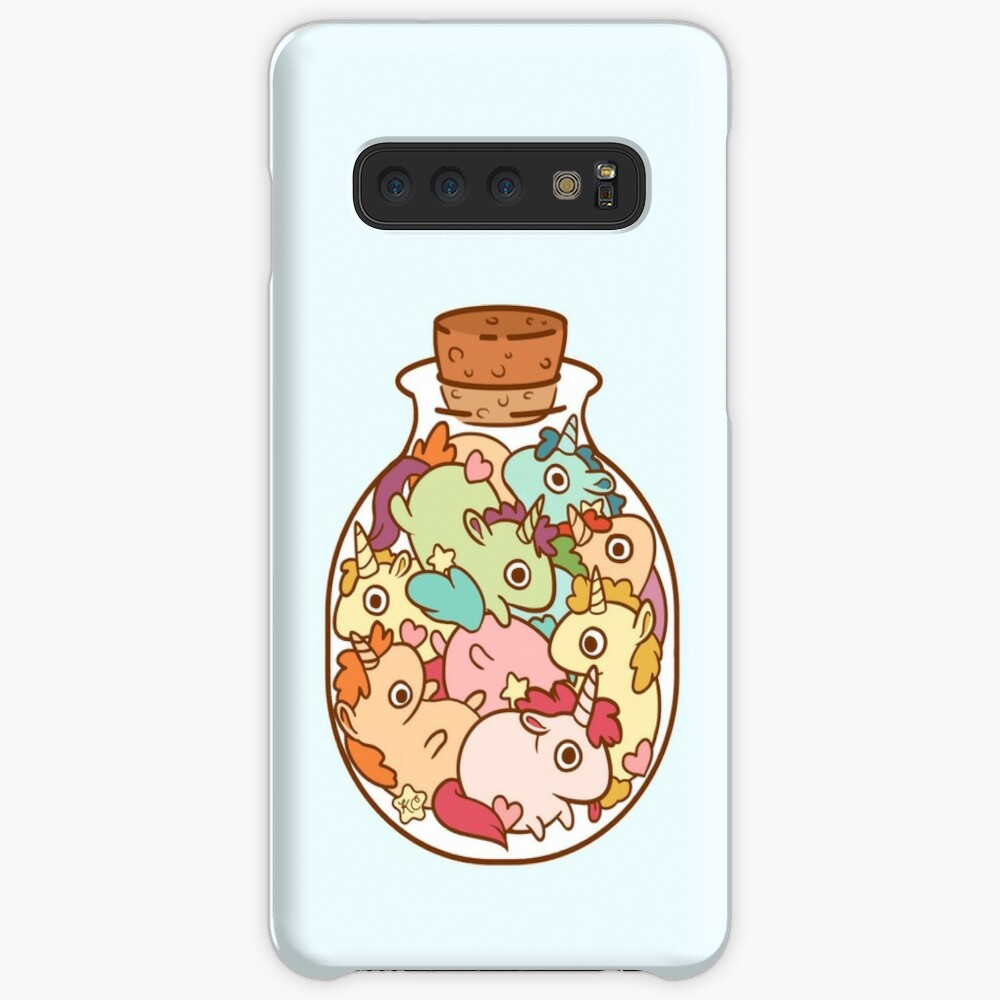 Bottle of Unicorns Case & Skin for Samsung Galaxy