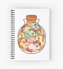 Bottle of Unicorns Spiral Notebook