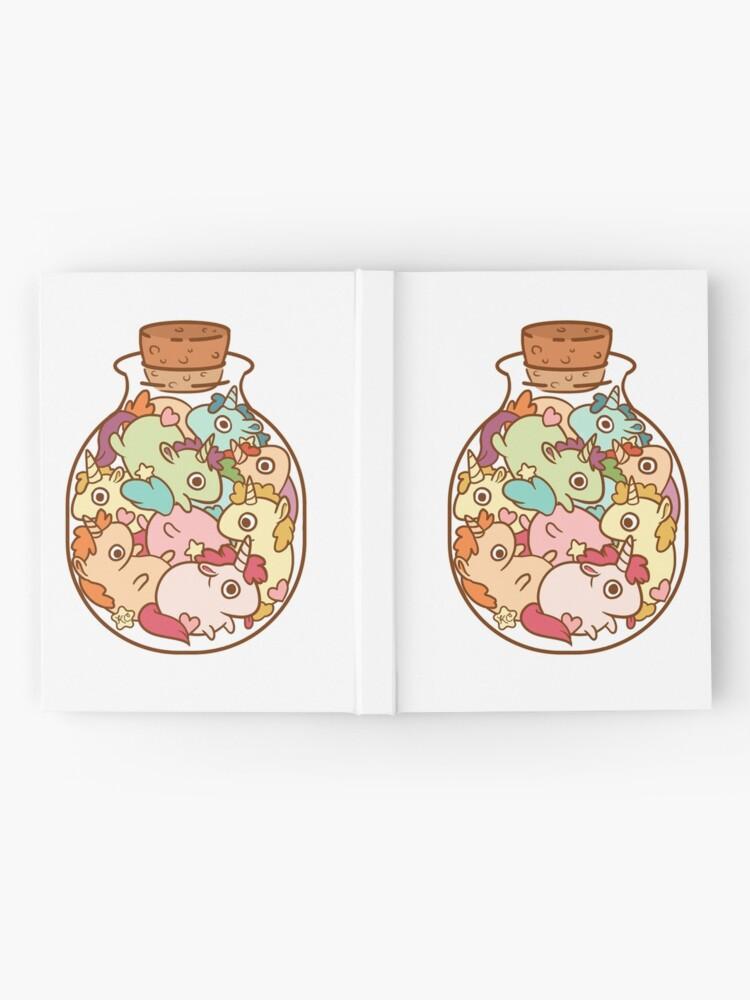 Alternate view of Bottle of Unicorns Hardcover Journal