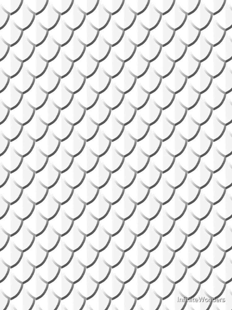 White Dragon Scales by InfiniteWonders