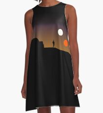 The Double Sunset... A-Line Dress