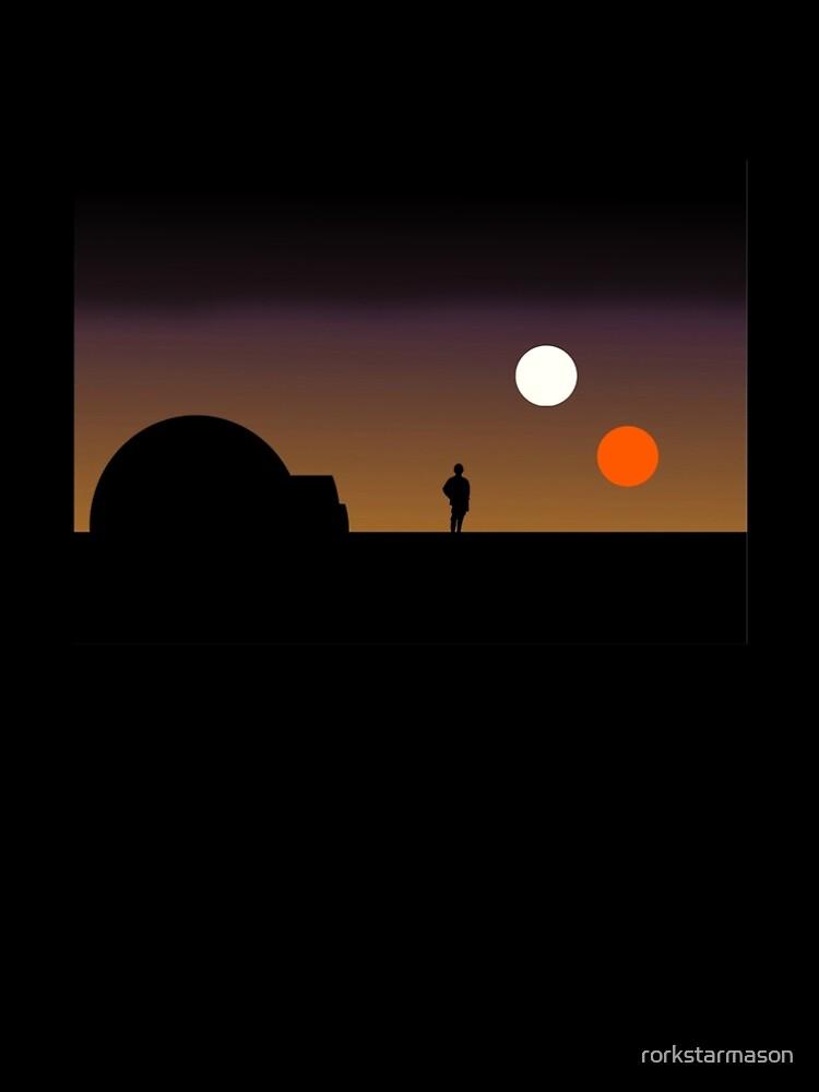Der doppelte Sonnenuntergang ... von rorkstarmason
