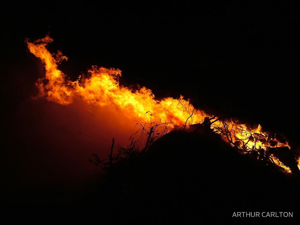 FLAMES ON THE WIND 2 by ARTHUR CARLTON
