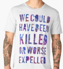 OR WORSE (painted) Men's Premium T-Shirt