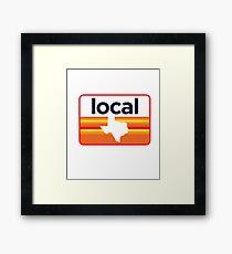 Texas Local Framed Print