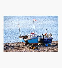 Boats At Beer - Impressions Photographic Print