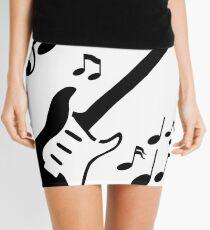 Rythmic Guitar Mini Skirt