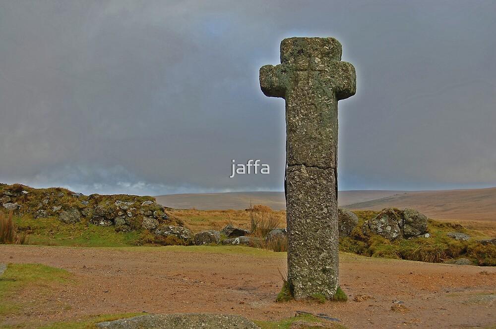 nun's cross dartmoor by jaffa