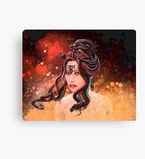 Medusa the Gorgon Canvas Print