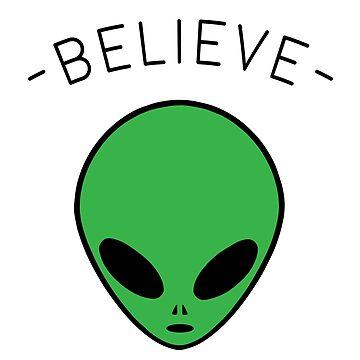 Alien - Believe by KH-Designs