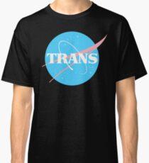 Nasa Trans Pride Logo - Flag Colors Classic T-Shirt