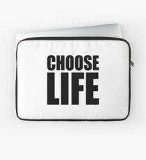 NDVH Choose Life Laptop Sleeve