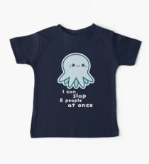 Funny Slapping Octopus Kids Clothes
