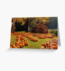 The Pumpkin Farm Greeting Card