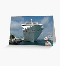 CRUISE LINER  Greeting Card