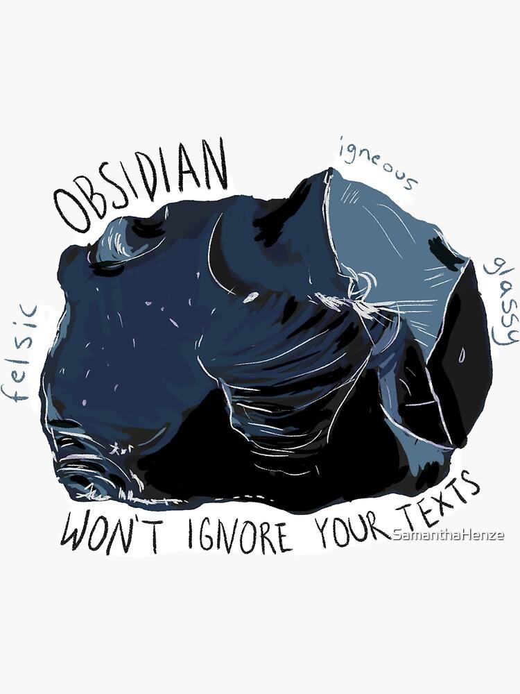 Obsidian von SamanthaHenze