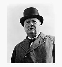Sir Winston Churchill Photographic Print