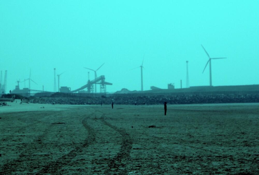 Blue Sky Liverpool by Hippyman