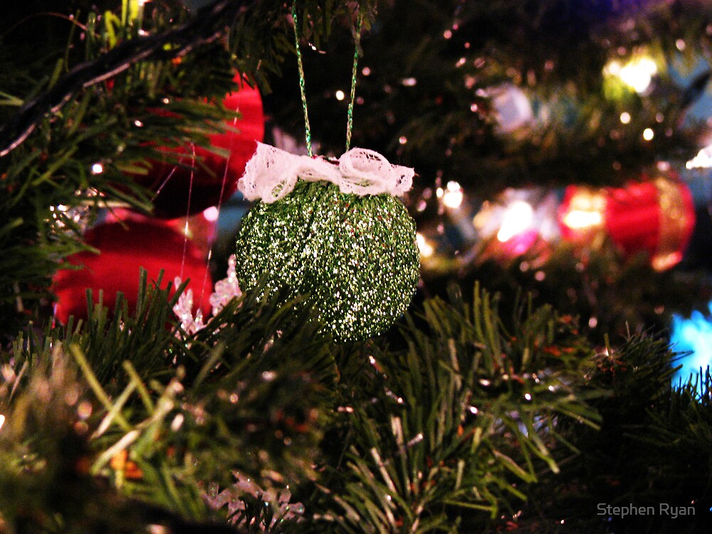 Christmas Ornament  by Stephen Ryan
