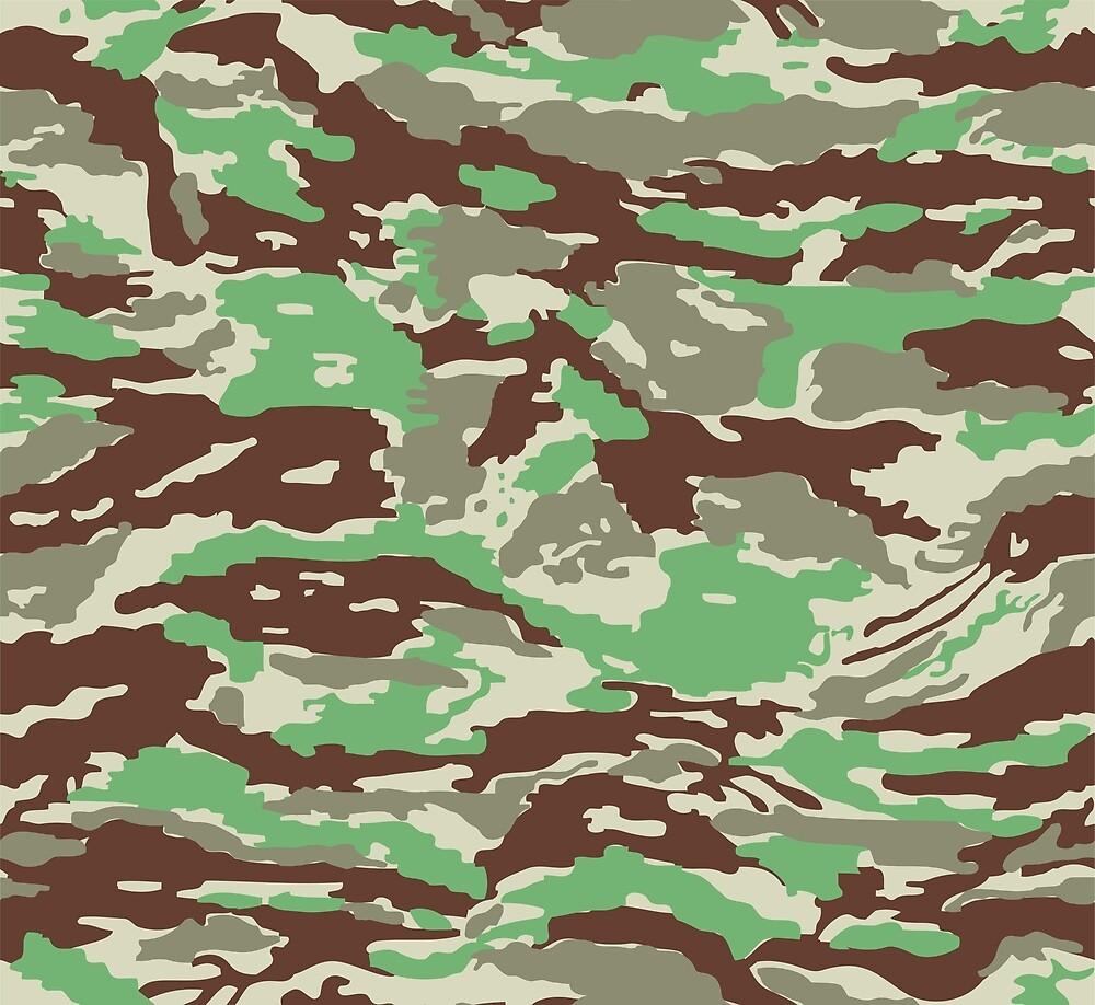 camouflage by Khokhloma