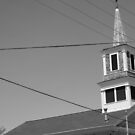 Stoughton Historical Museum Steeple by disizitstudios