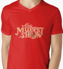 Vintage Muppet Show Men's V-Neck T-Shirt