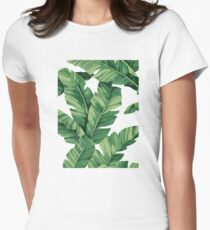 Tropical banana leaves T-Shirt