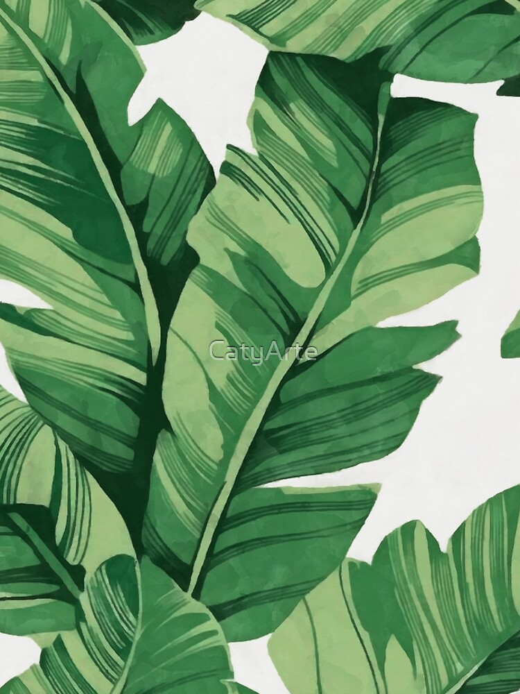 Tropical banana leaves by CatyArte