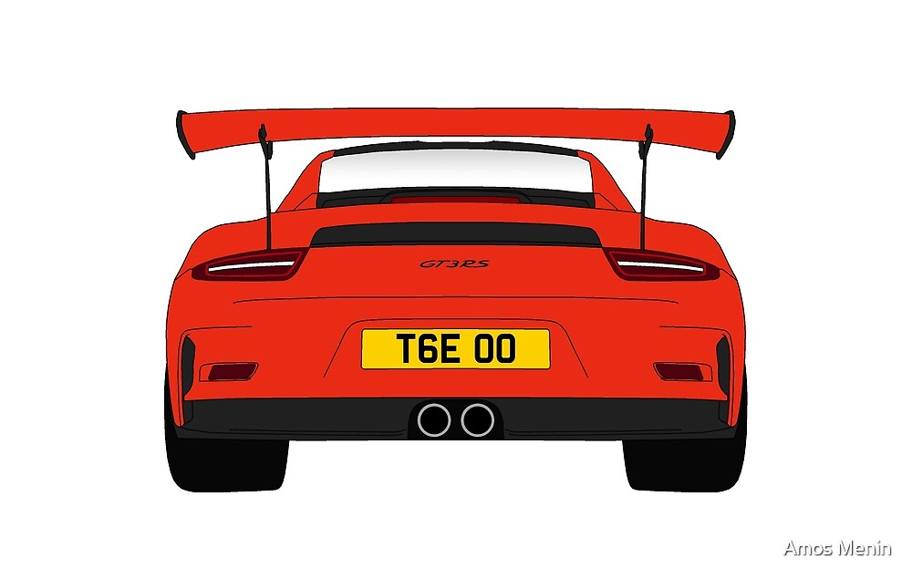 Porsche 911 GT3 RS - Lava Orange - TGE by Amos Menin